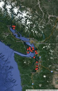 An Overview of Puget Sound Boating Destinations Visited by TravelingYogiBear via Apricity.