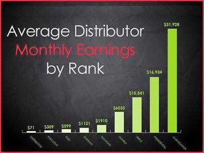 average monthly income