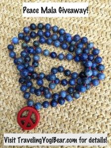 Peace Mala Giveaway
