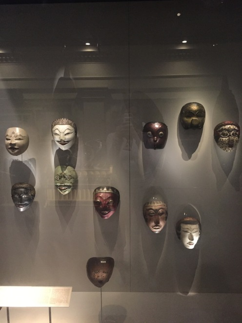 Performing arts masks